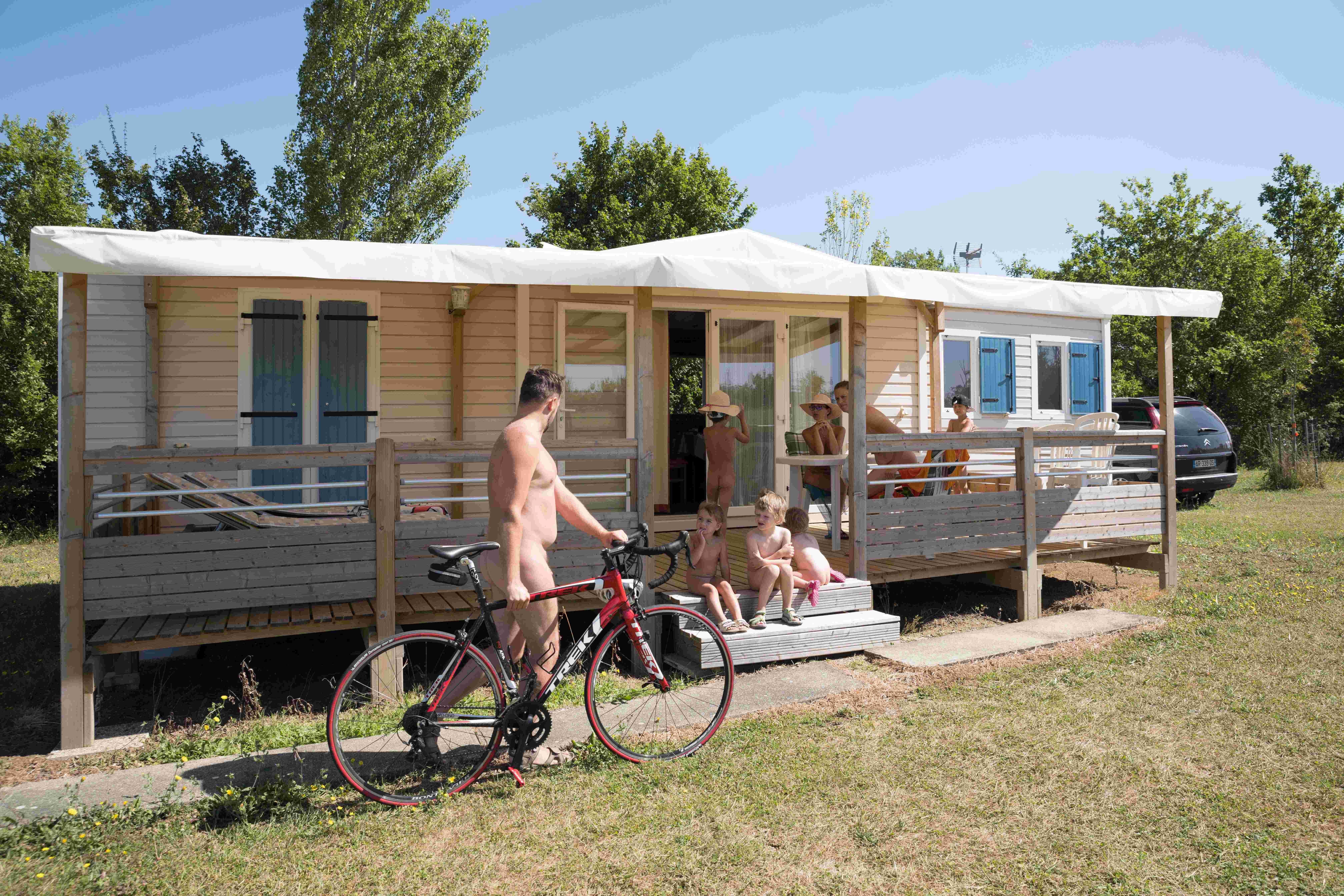 Location - Emeraude 4/6Pers. Luxe - Camping Deveze