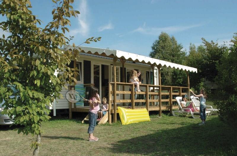 Location - Mobile Home Louisiane Zen - 3 Chambres / 1 Salle De Bain - Camping Castel Le Camp de Florence