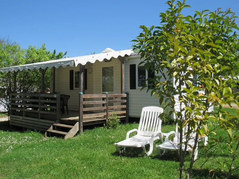 Location - Mobile Home Cottage Standard - 2 Chambres / 1 Salle De Bain - Camping Castel Le Camp de Florence