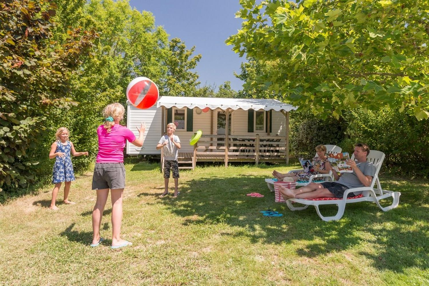 Location - Mobile Home Cottage Confort Plus - 2 Chambres / 1 Salle De Bain - Camping Castel Le Camp de Florence