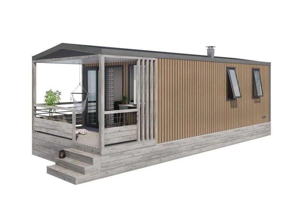NEW  Mobile home Panoramique - 2 chambres / 1 salle de bain + CLIMATISATION