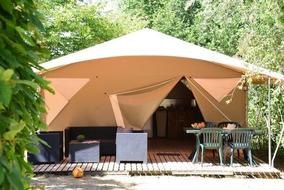 Location - Tente La Canada - 2 Chambres / Sans Salle De Bain - Camping Castel Le Camp de Florence