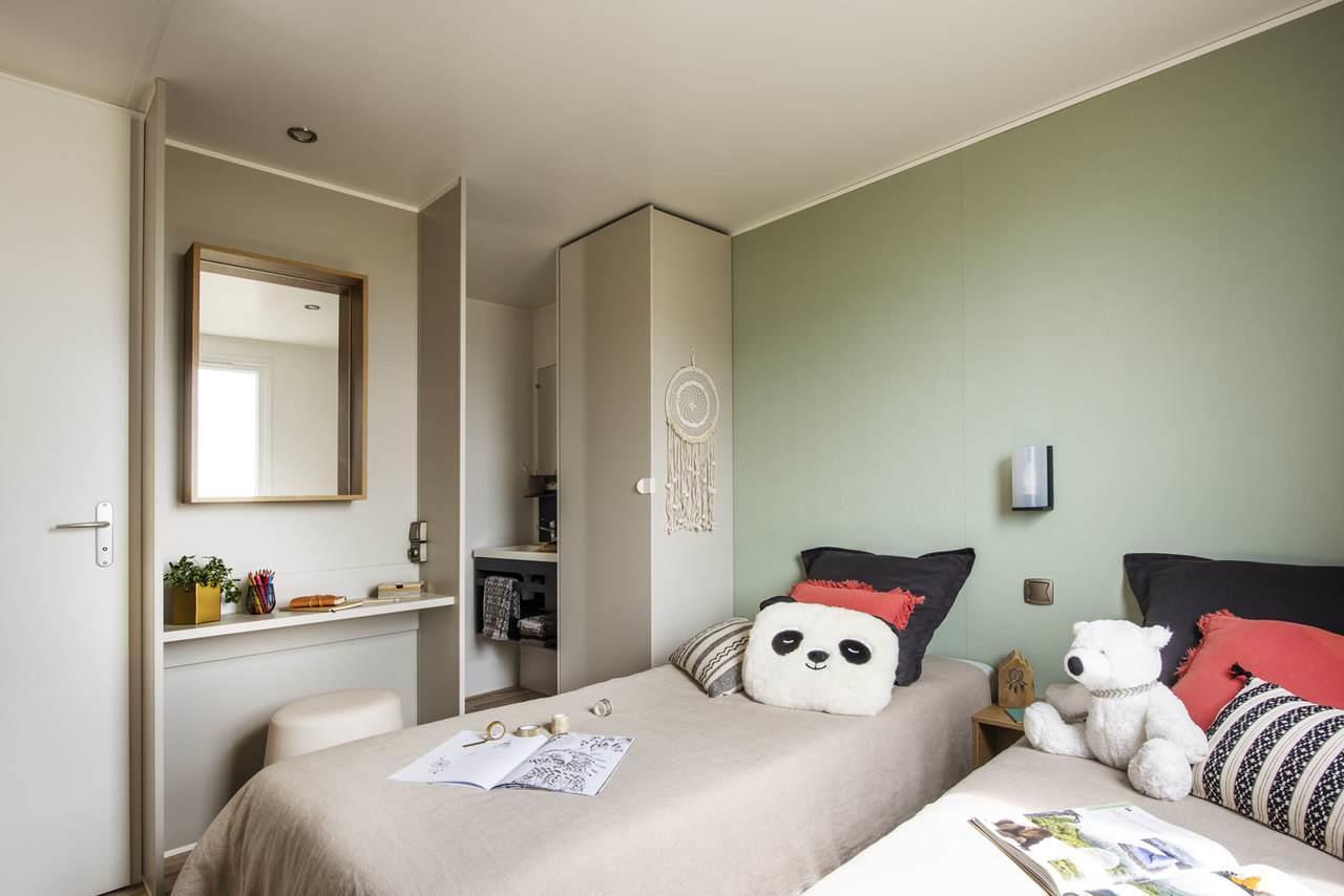 Location - Cottage Zenitude ***  2 Chambres + 2 Sdb - Yelloh! Village Le Lac des Trois Vallées