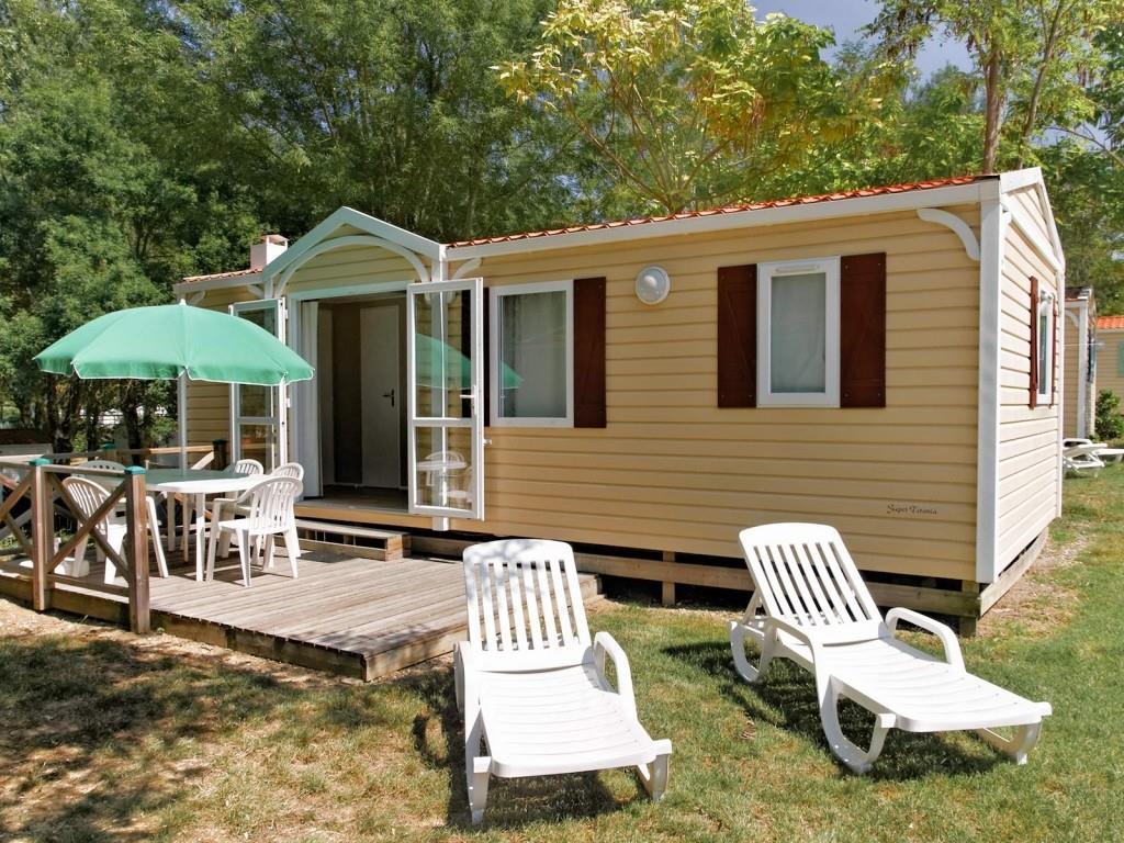 Location - Cottage Pastel ***  2 Chambres Pmr -  Adapté Aux Personnes À Mobilité Réduite - Yelloh! Village Le Lac des Trois Vallées
