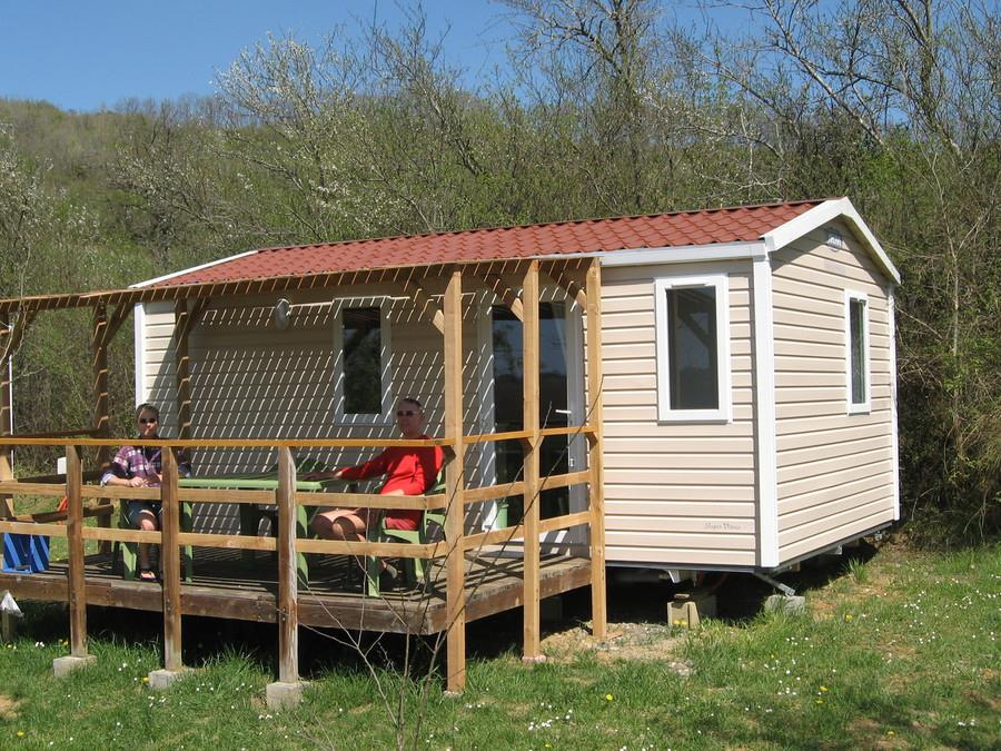 Location - Mobil Home Confort + 24M² (2 Chambres) - Camping du Lac