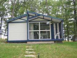 Location - Chalet Pivert + 10 Ans. - Camping Sites et Paysages Aramis