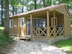 Location - Cottage Portos Avec Terrasse Couverte, Grand Réfrigérateur + Congélateur. - Camping Sites et Paysages Aramis