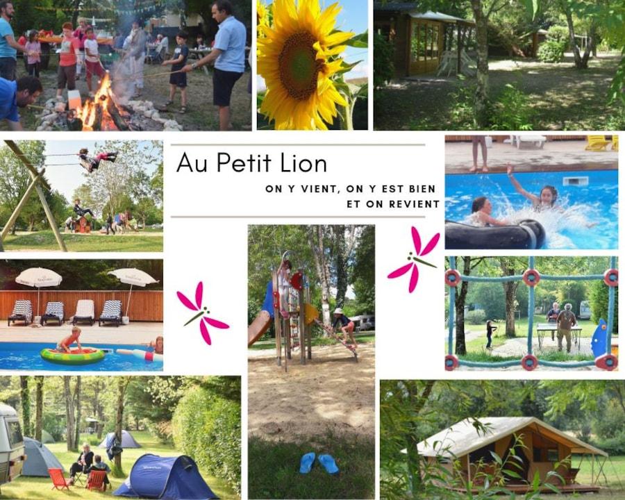 Camping Le Petit Lion Des Tourbières - Vendoire