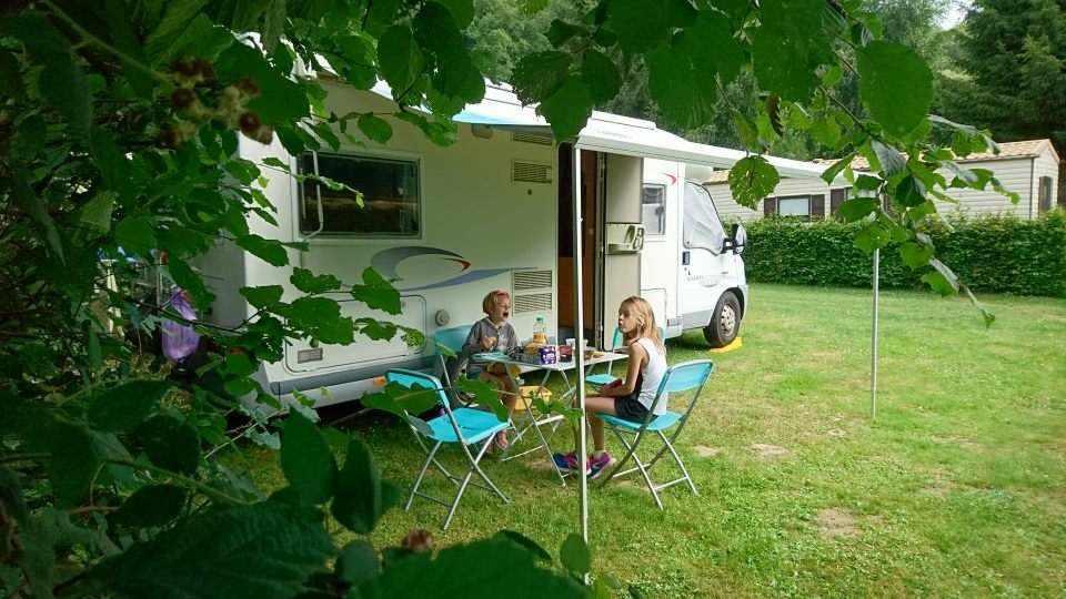 Camping de la Rouvre, Menil Hubert sur Orne, Orne