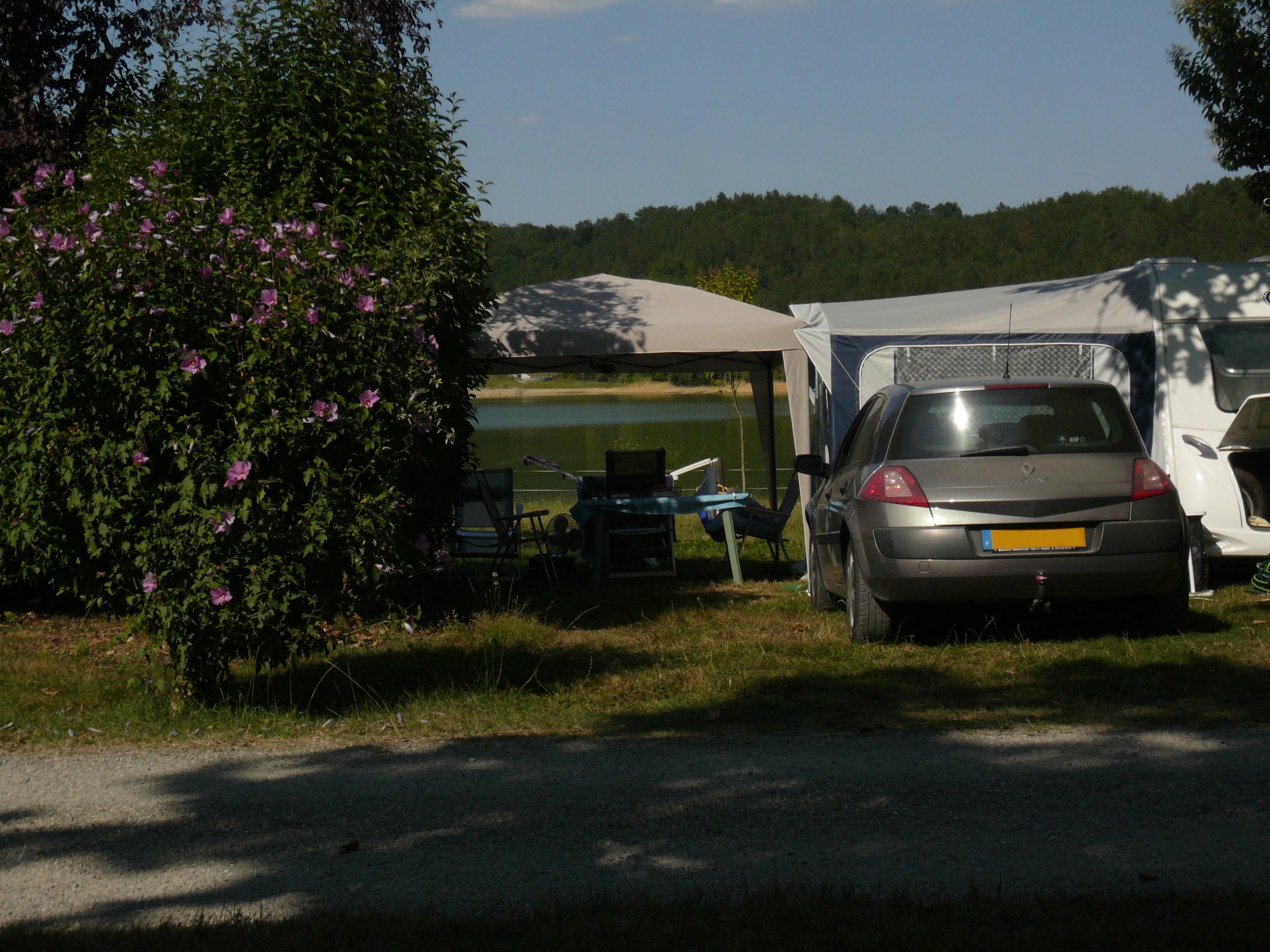 Camping les Reflets du Lac, Mielan, Gers