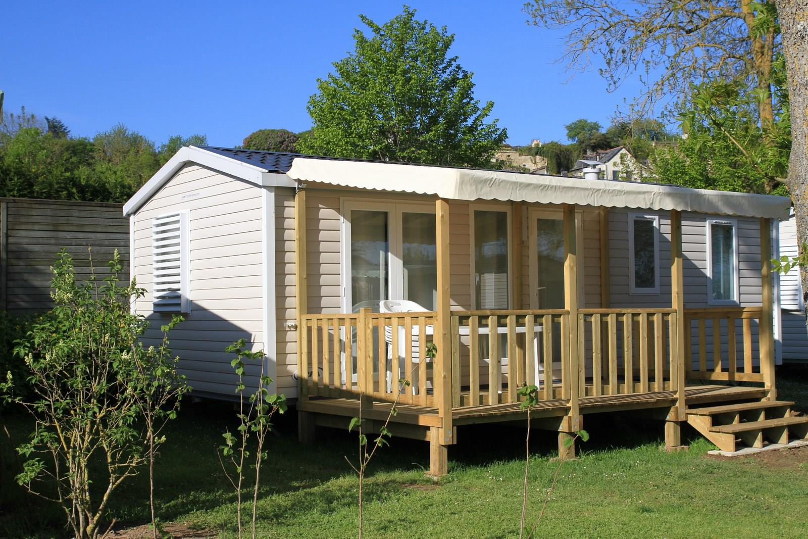 Mobile home  - 3 Bedrooms + TV  sheltered terrace