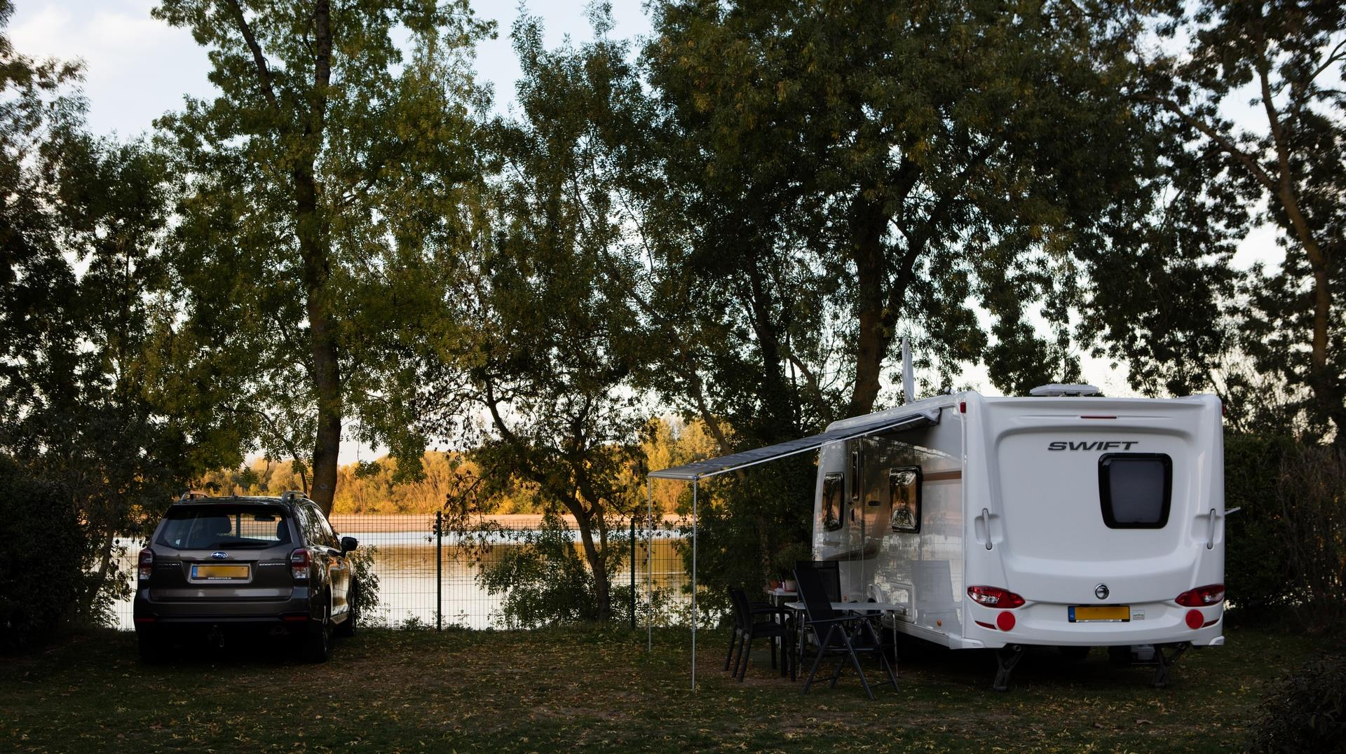 Camping l'Isle Verte, Montsoreau, Maine-et-Loire
