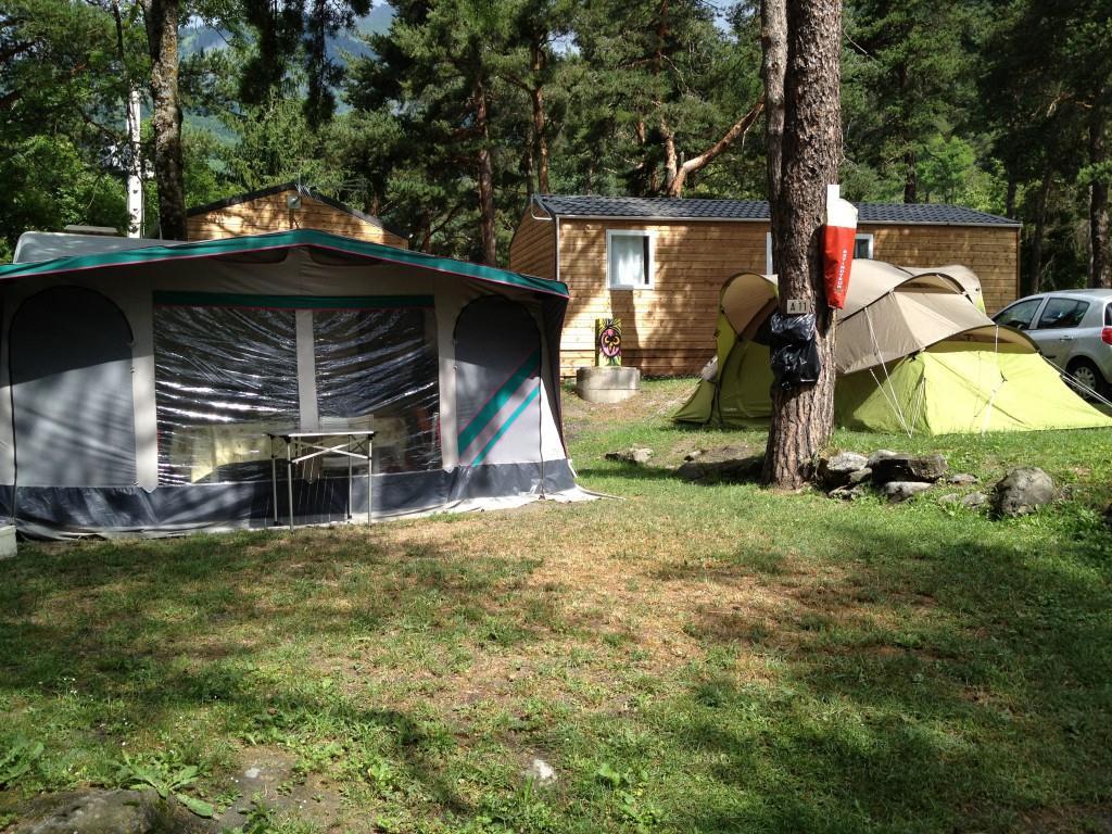 Emplacement - Forfait Randonneur À Pied Ou À Vélo Avec Tente - Camping Le Reclus