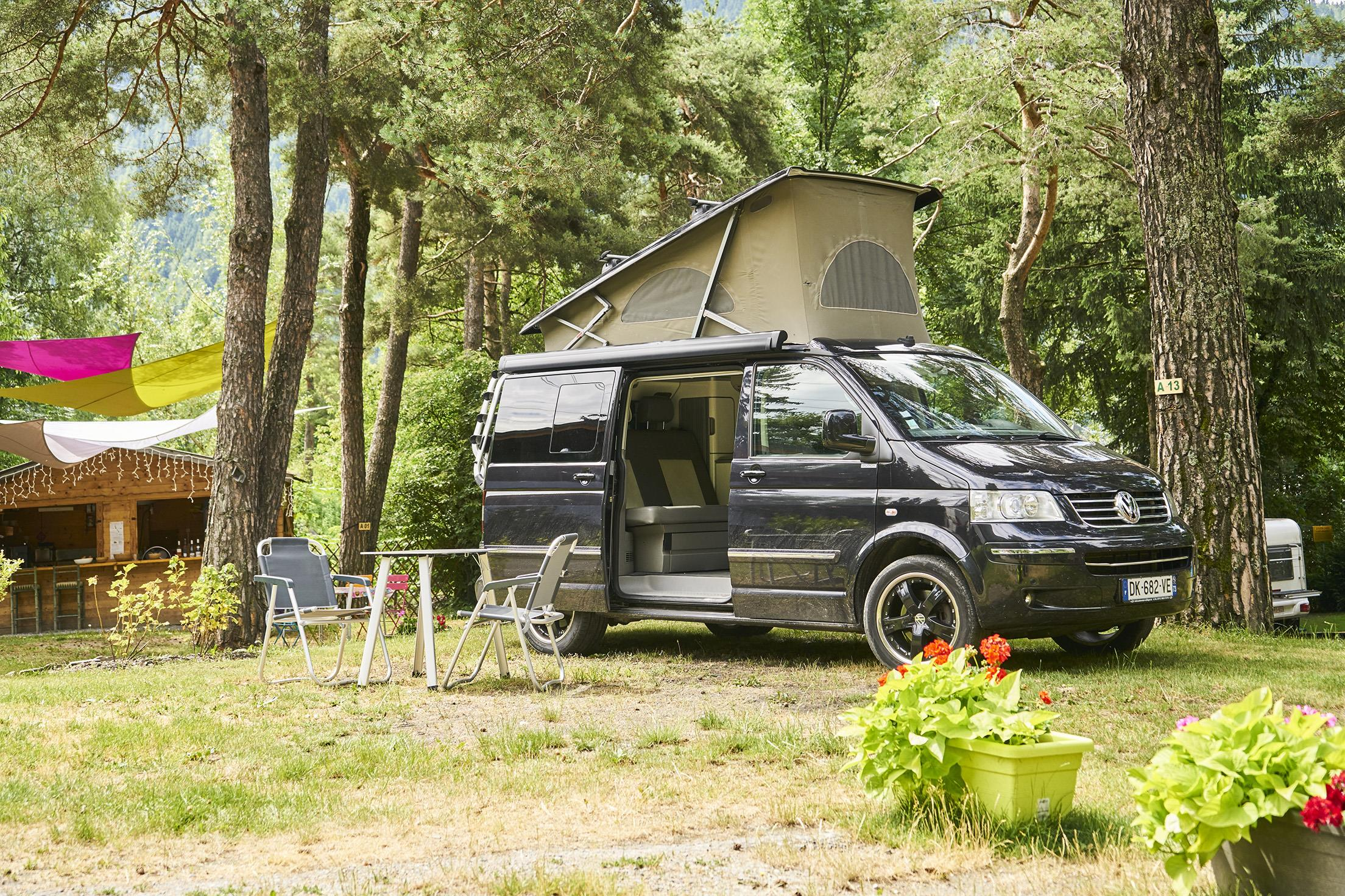 Emplacement - Emplacement + Camping-Car - Camping Le Reclus
