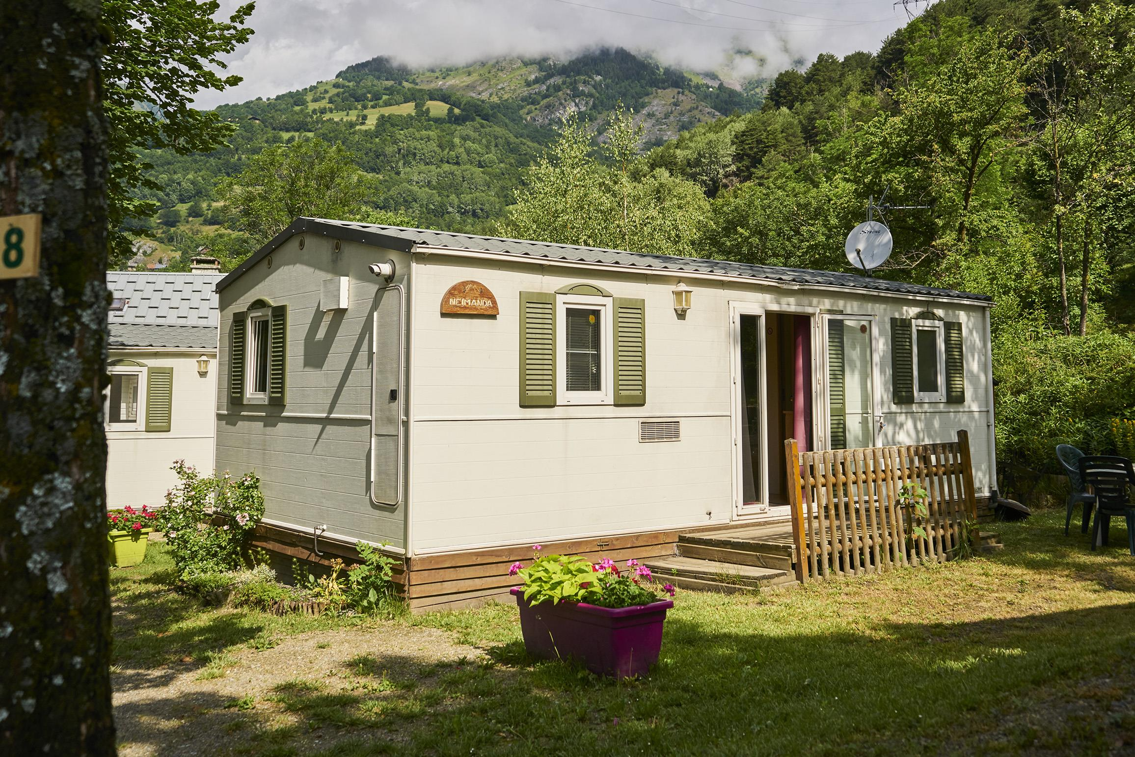 Location - Mobil Home ** 30M² - Camping Le Reclus