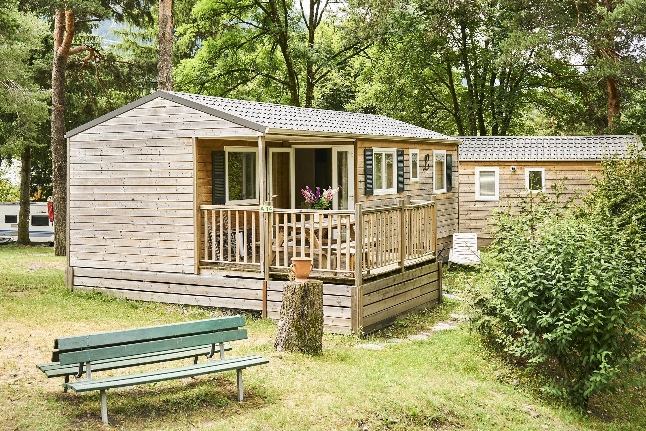 Location - Mobilhome*** Xl 40M² - Camping Le Reclus
