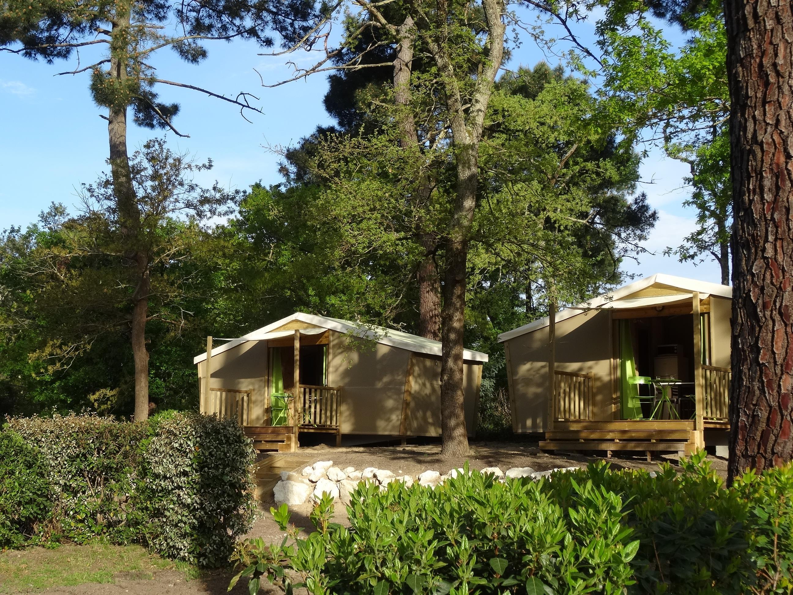 Camping les Côtes de Saintonge, Saint-Augustin, Charente-Maritime