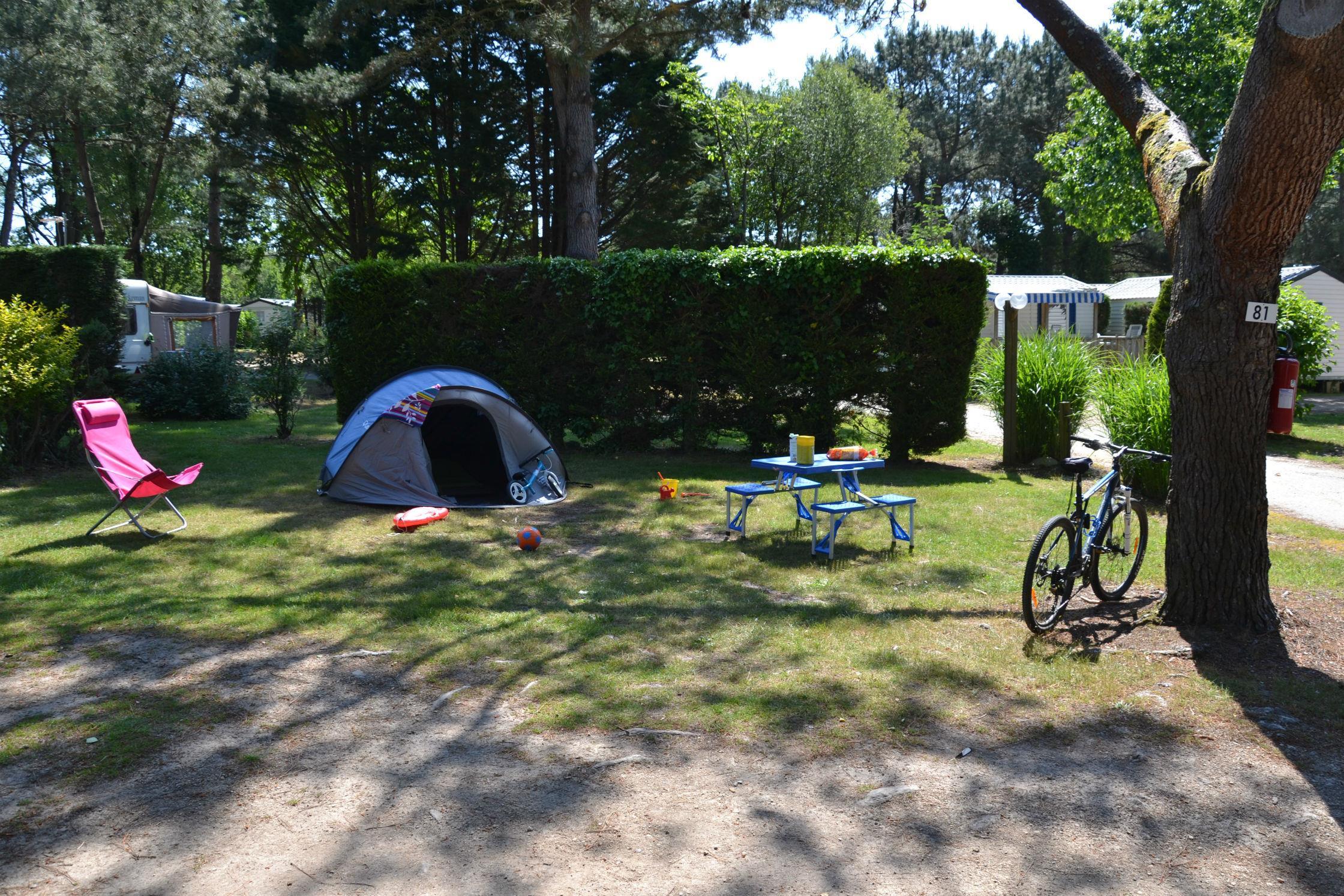 Emplacement - Forfait Confort (1 Tente, Caravane Ou Camping-Car / 1 Voiture / Électricité 10A) - Camping Le Fort Espagnol
