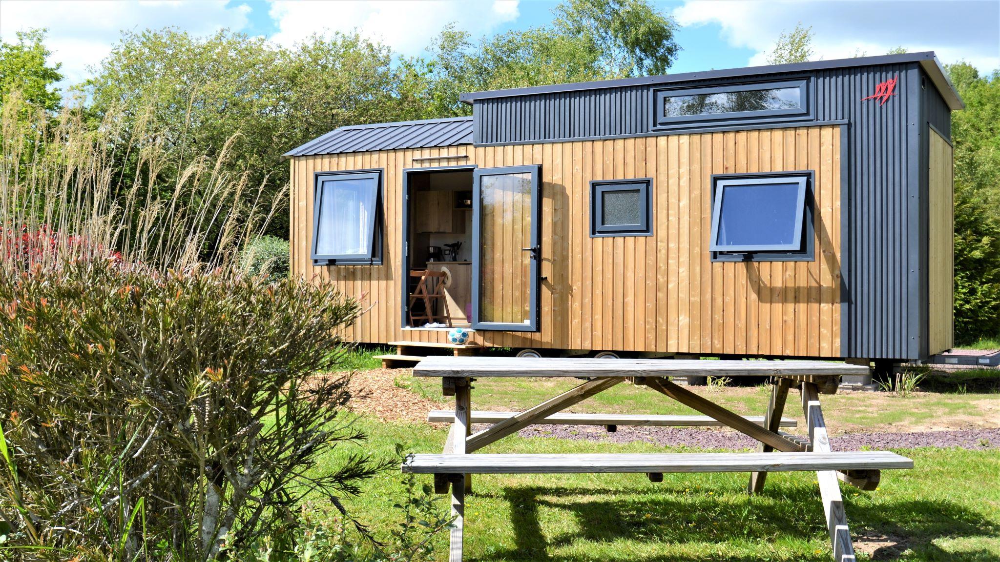 Location - Tiny House Nouveauté 2021 (Avec Sdb) 20M² - 2 Chambres - Domaine de Kervallon