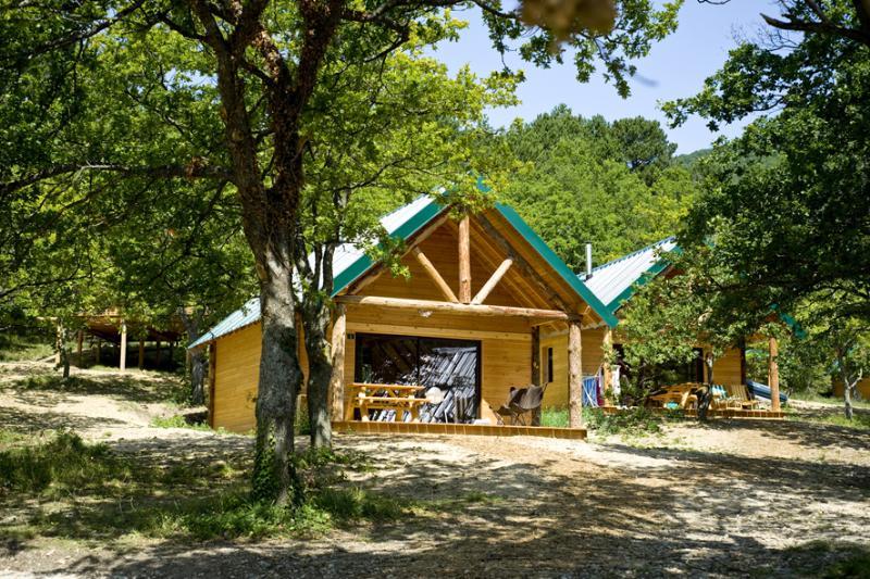 Location - Cabane - Village Huttopia Dieulefit