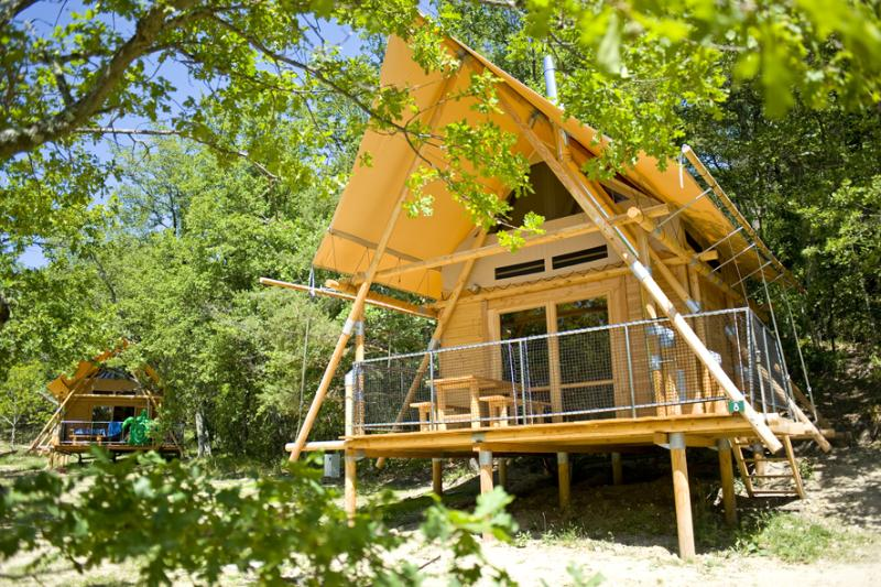 Accommodation - Cahutte - Village Huttopia Dieulefit
