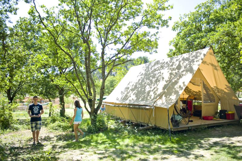 Location - Tente Canadienne - Village Huttopia Dieulefit
