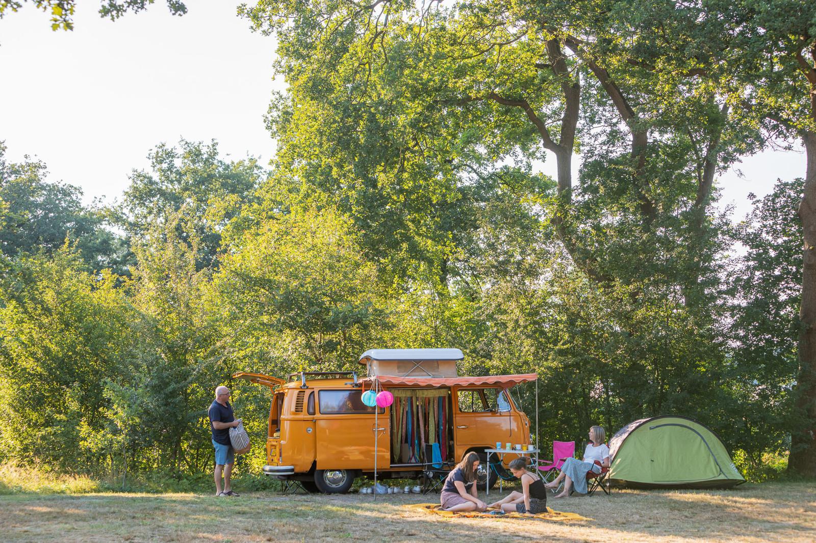 Emplacement - Emplacement : Tente + Électricité (Pas D'accès Voiture) - Village Huttopia Dieulefit