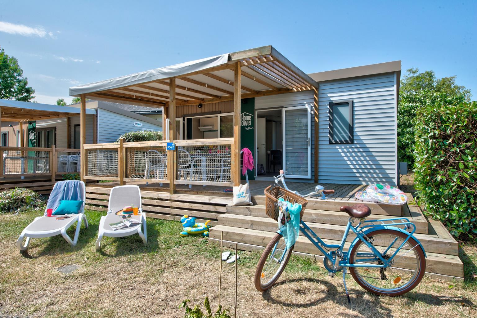 Homeflower Premium 26.5m² 2 chambres + terrasse + lave-vaisselle + TV + draps inclus
