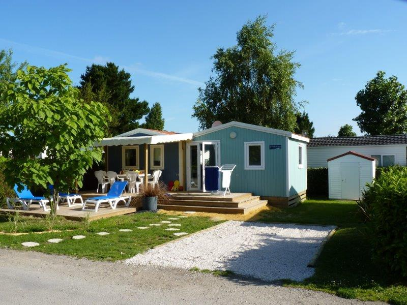 Mobil-home Cabane du Pêcheur GRAND CONFORT  3 chambres 33m²