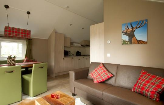 Location - Outdoor Living Lodge - 3 Chambres - Camping de Kleine Wolf