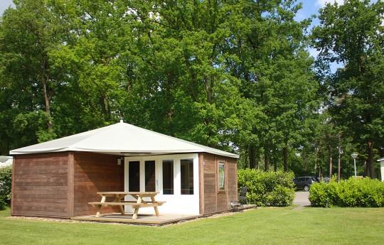 Location - Woody - 2 Chambres - Camping de Kleine Wolf