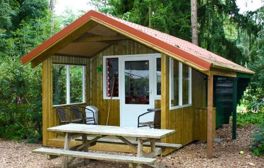 Location - Cabane De Randonneur (Sans Sanitaires Privés) - Camping de Kleine Wolf