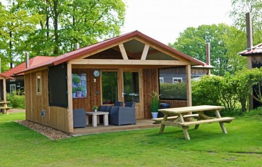 Location - Basic Lodge - Camping de Kleine Wolf