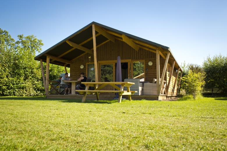 Location - Oehoelodge - 2 Chambres - Camping de Kleine Wolf