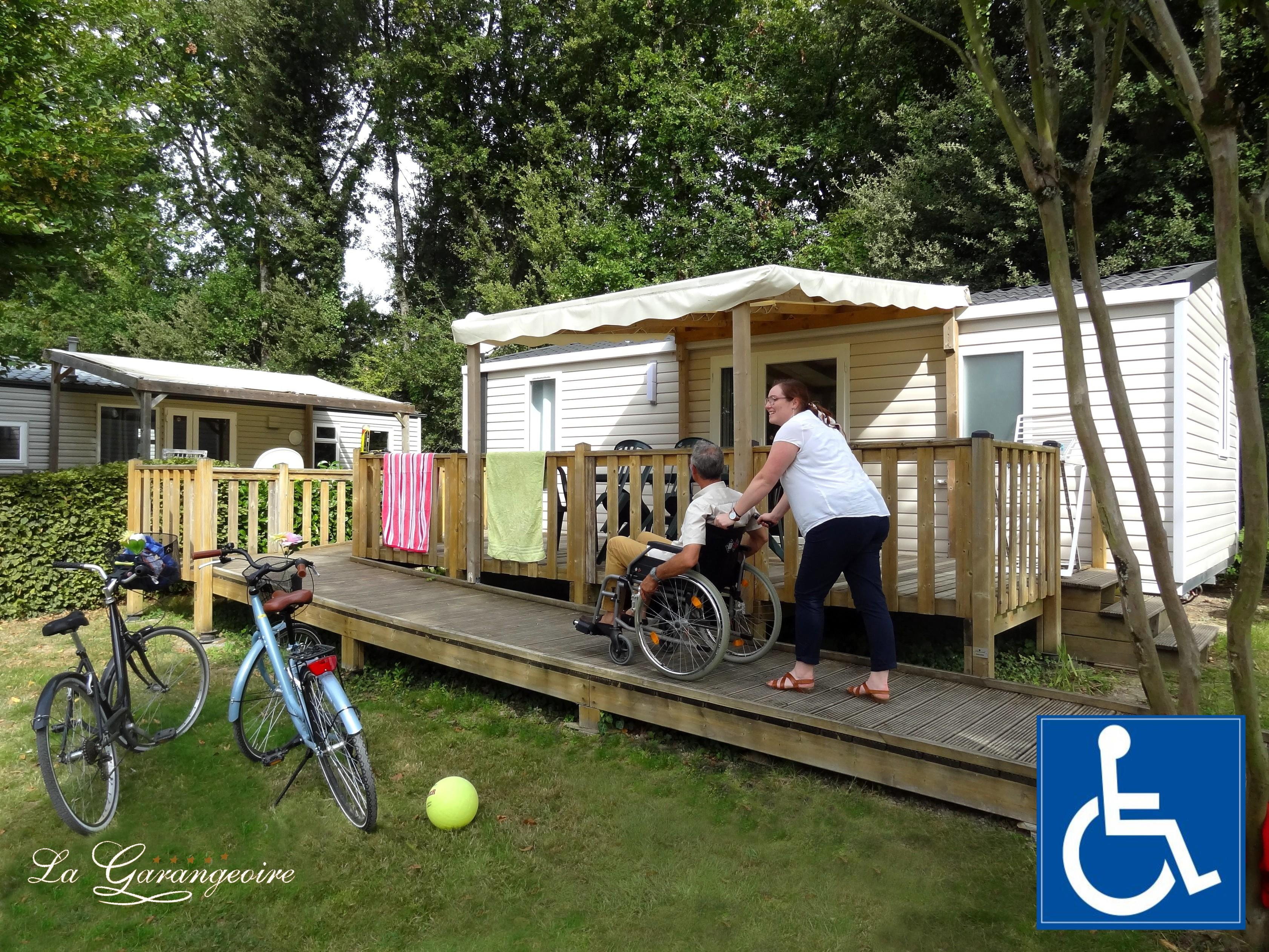 Mobile Home - 2 Bedrooms - 1 Bathroom - 4/5 Pers - Life Designed For Disabled People - 30.50 M2 - With Tv (Fransat) -