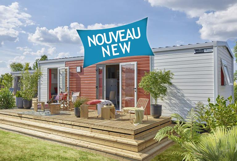 New Mobile-Home - 2 Bedrooms - 1 Bathroom - Louisa - 36 M2 -