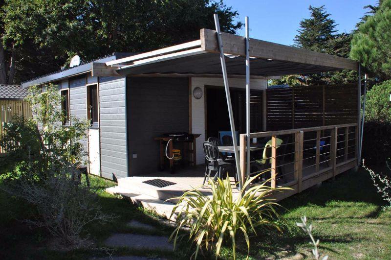 Location - Chalet Casane 3 Chambres Premium - Camping Sandaya Le Moulin de l'Eclis