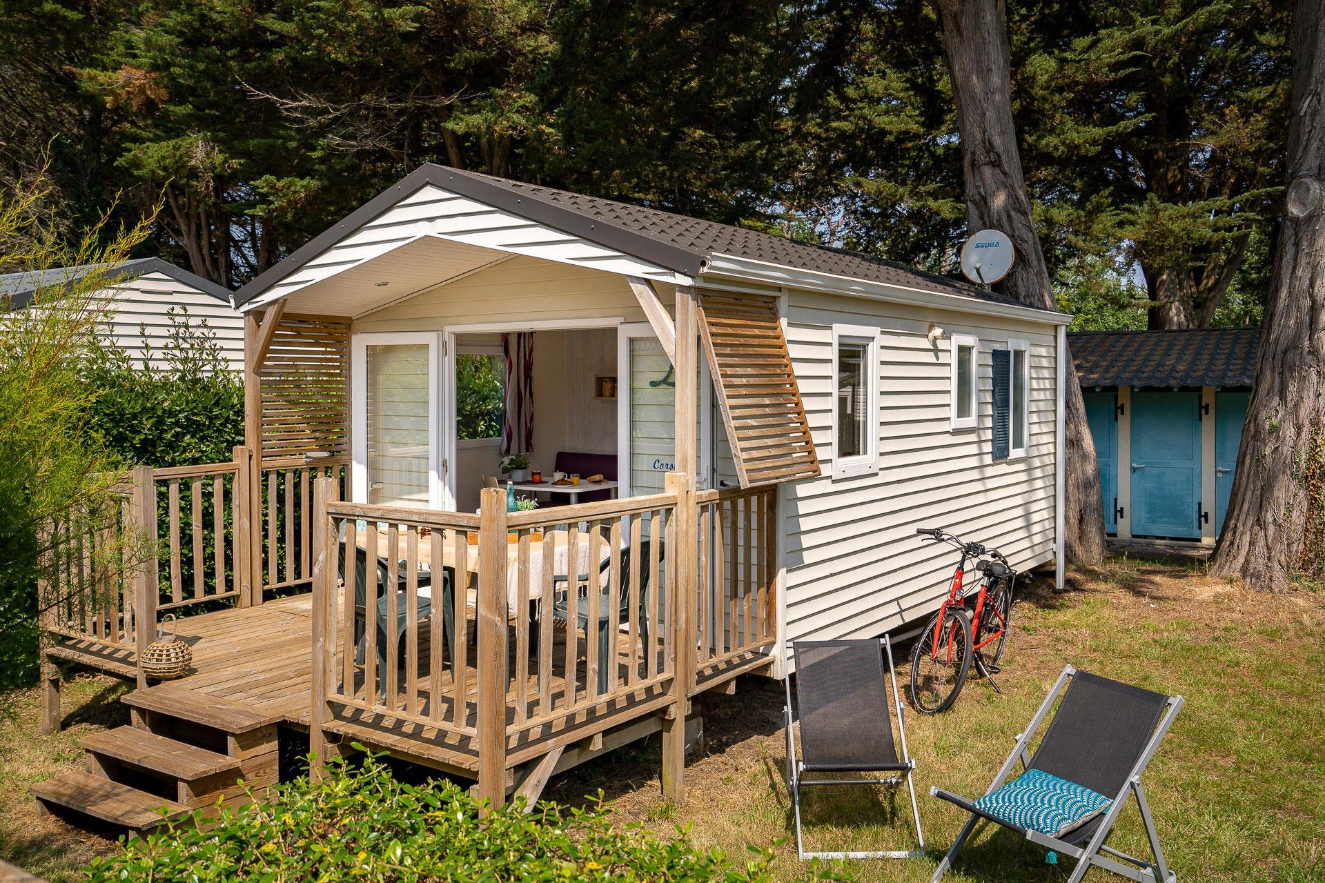 Location - Cottage 1 Chambre *** - Camping Sandaya Le Moulin de l'Eclis