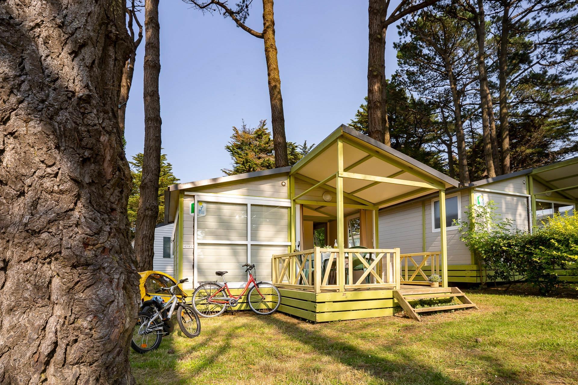 Location - Chalet Guérande 2 Chambres ** - Camping Sandaya Le Moulin de l'Eclis