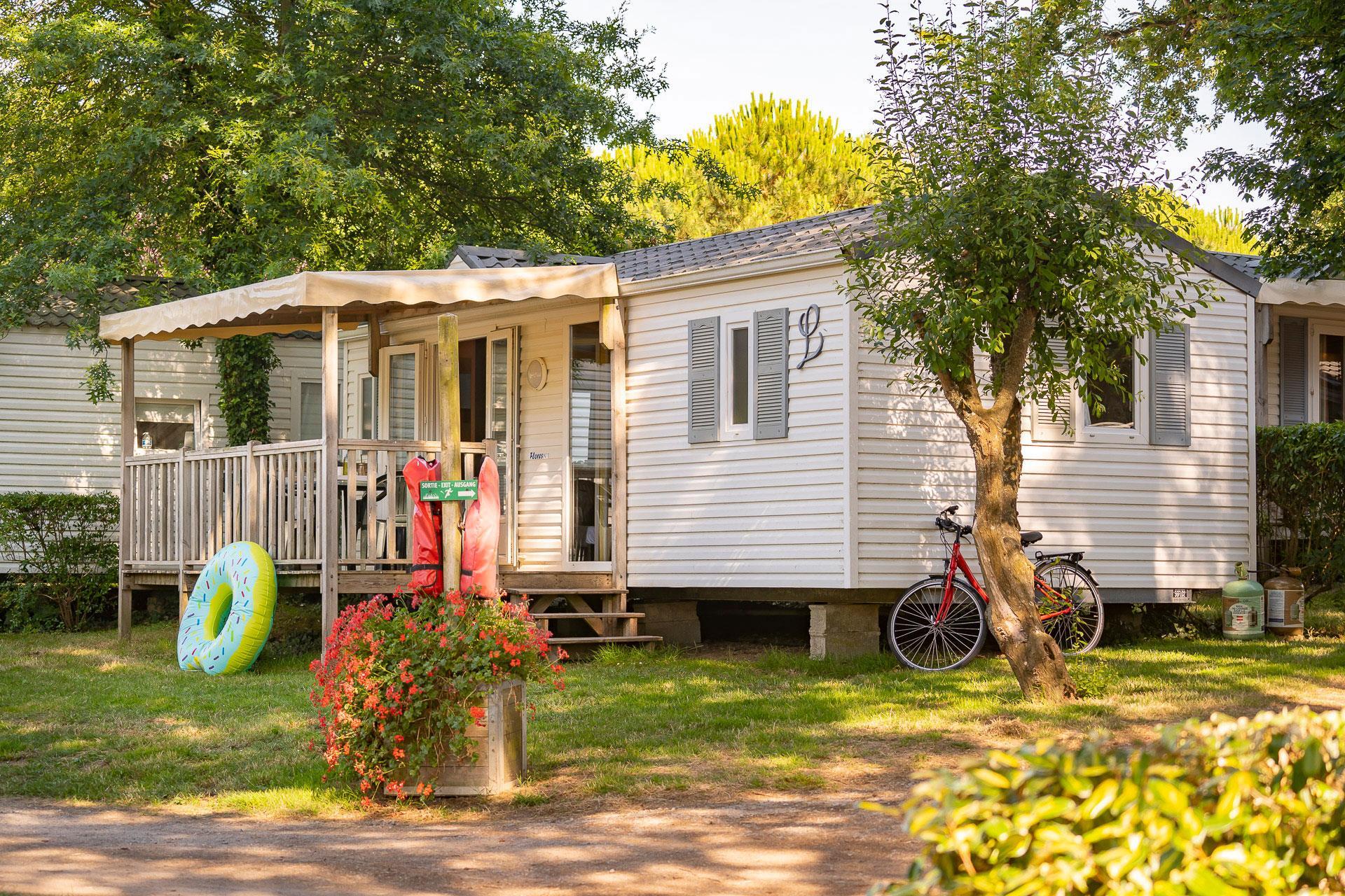 Location - Cottage 2 Chambres ** - Camping Sandaya Le Moulin de l'Eclis