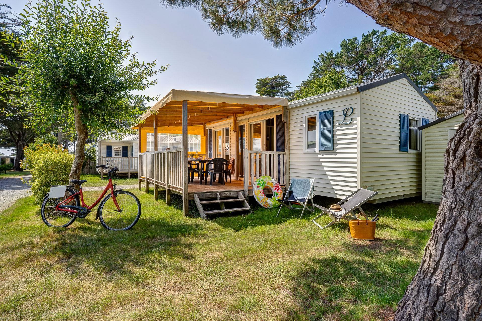 Location - Cottage 2 Chambres *** - Camping Sandaya Le Moulin de l'Eclis