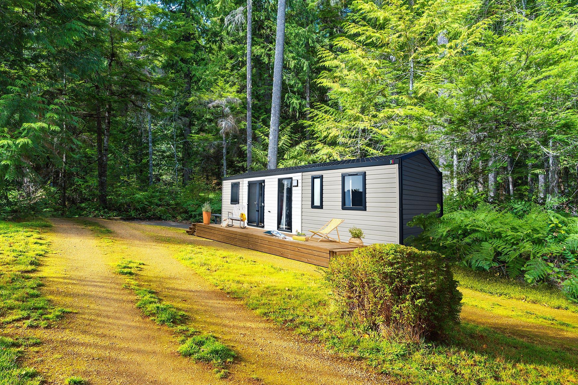 Location - Cottage 3 Chambres **** - Camping Sandaya Le Moulin de l'Eclis