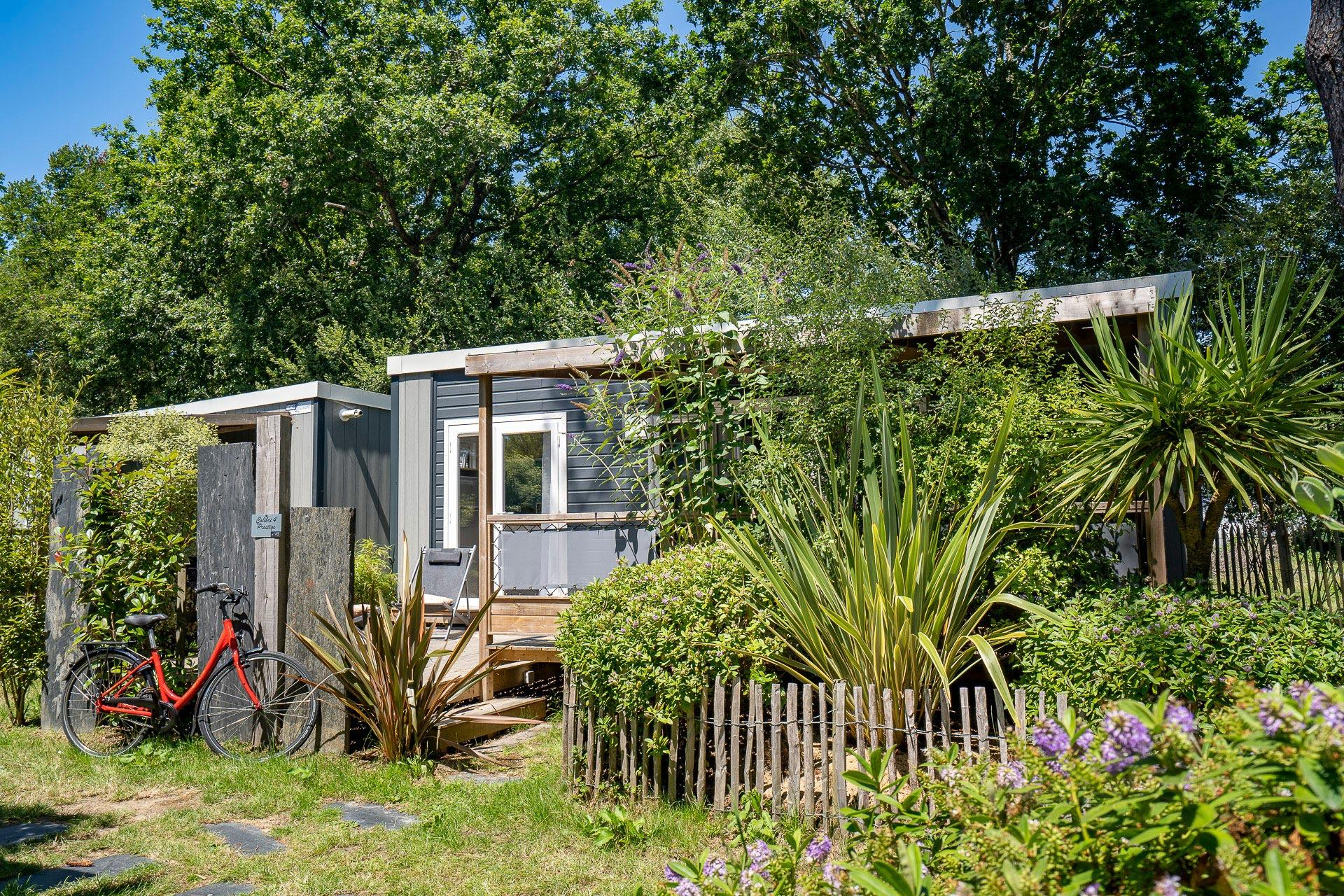 Location - Cottage Colibri 2 Chambres Premium - Camping Sandaya Le Moulin de l'Eclis