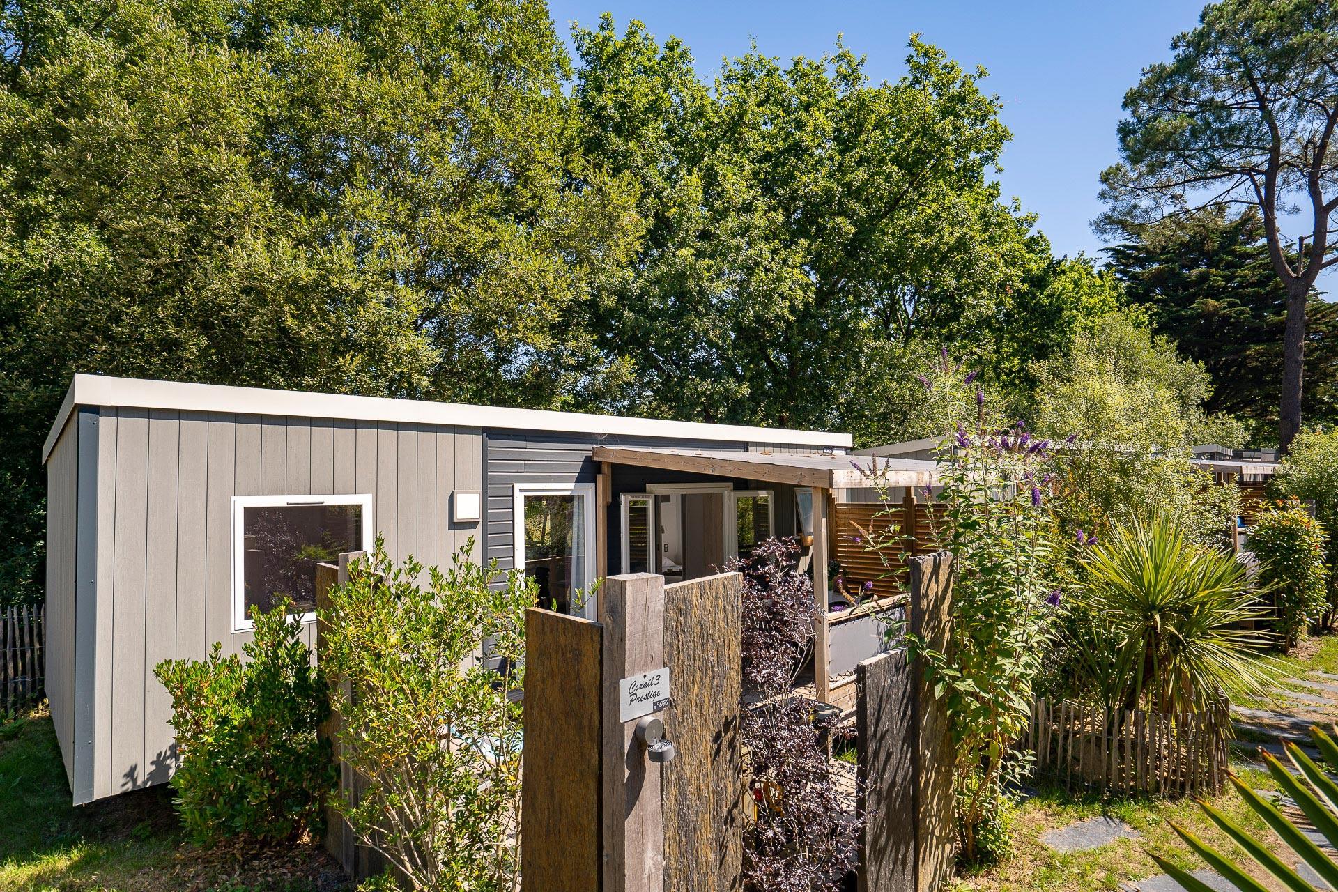 Location - Cottage Corail 3 Chambres Premium - Camping Sandaya Le Moulin de l'Eclis