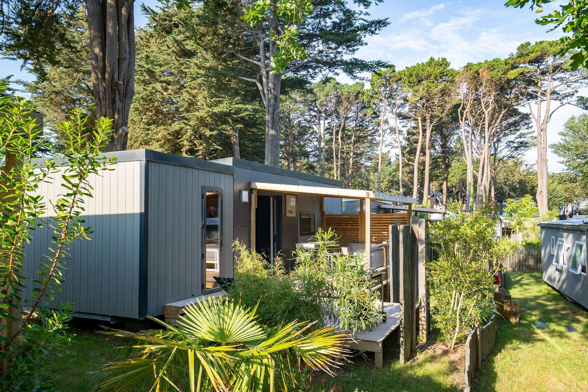 Location - Cottage Taos 2 Chambres Premium - Camping Sandaya Le Moulin de l'Eclis