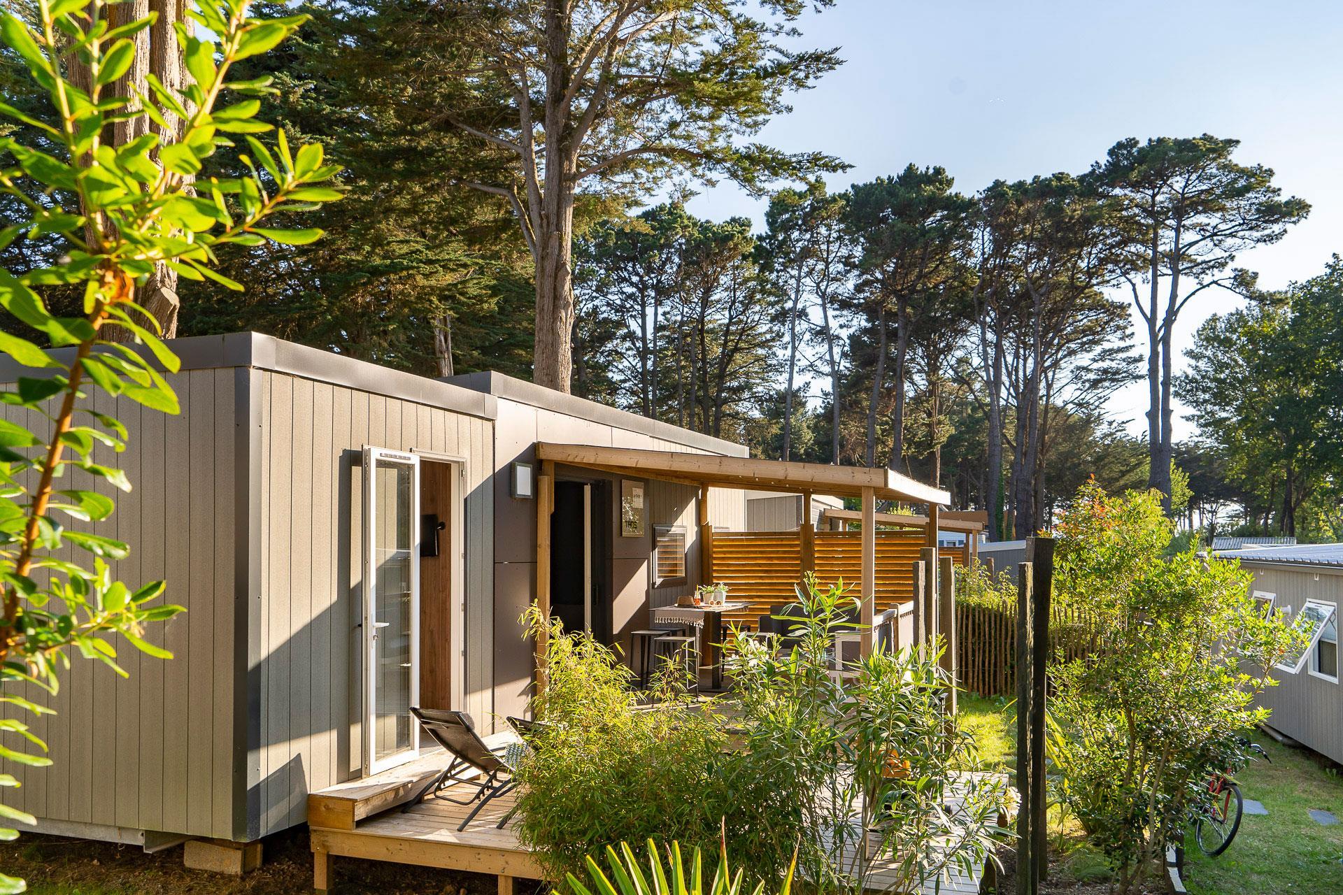 Location - Cottage Grand Taos 3 Chambres Premium - Camping Sandaya Le Moulin de l'Eclis