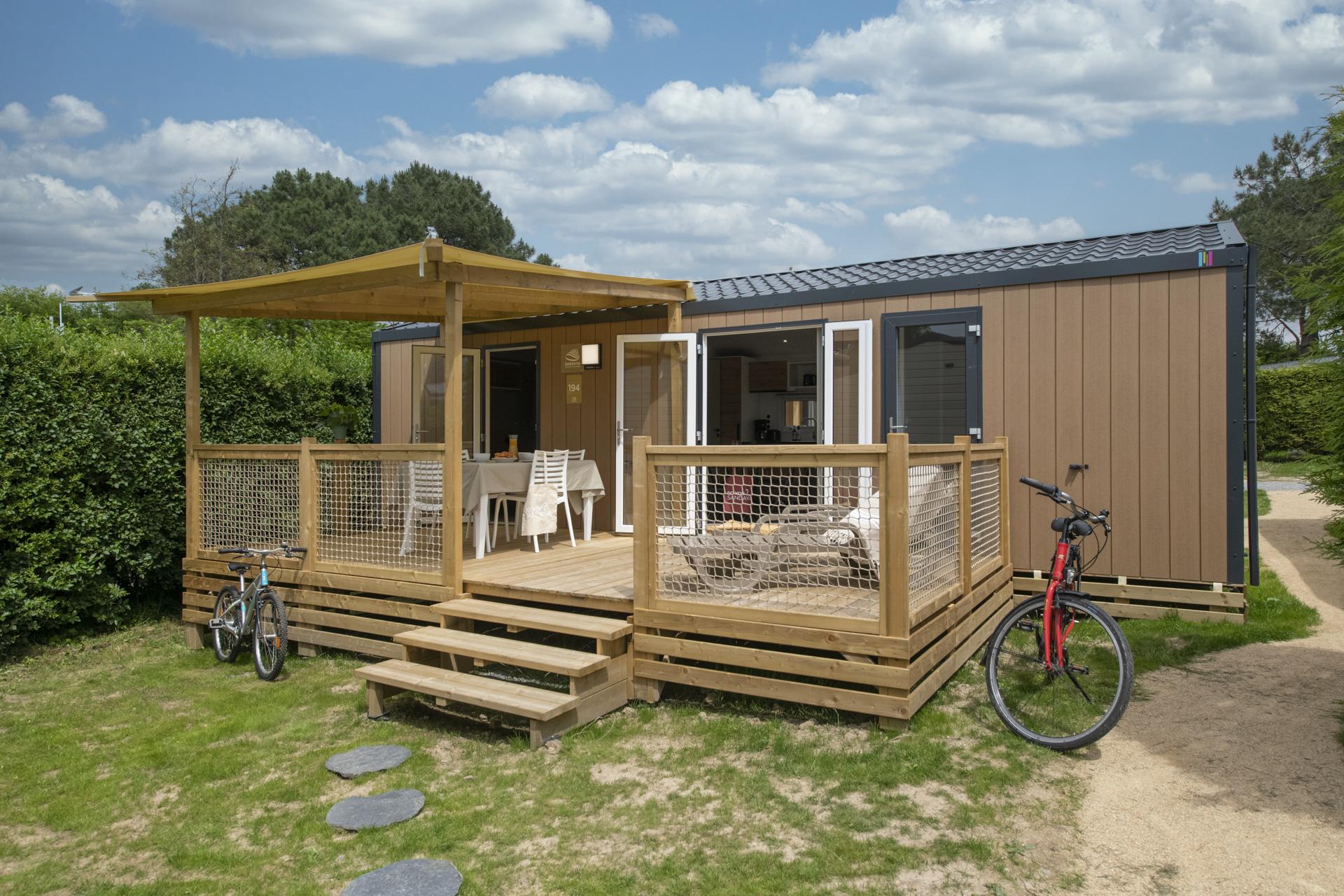 Location - Cottage 2 Chambres **** - Camping Sandaya Le Moulin de l'Eclis