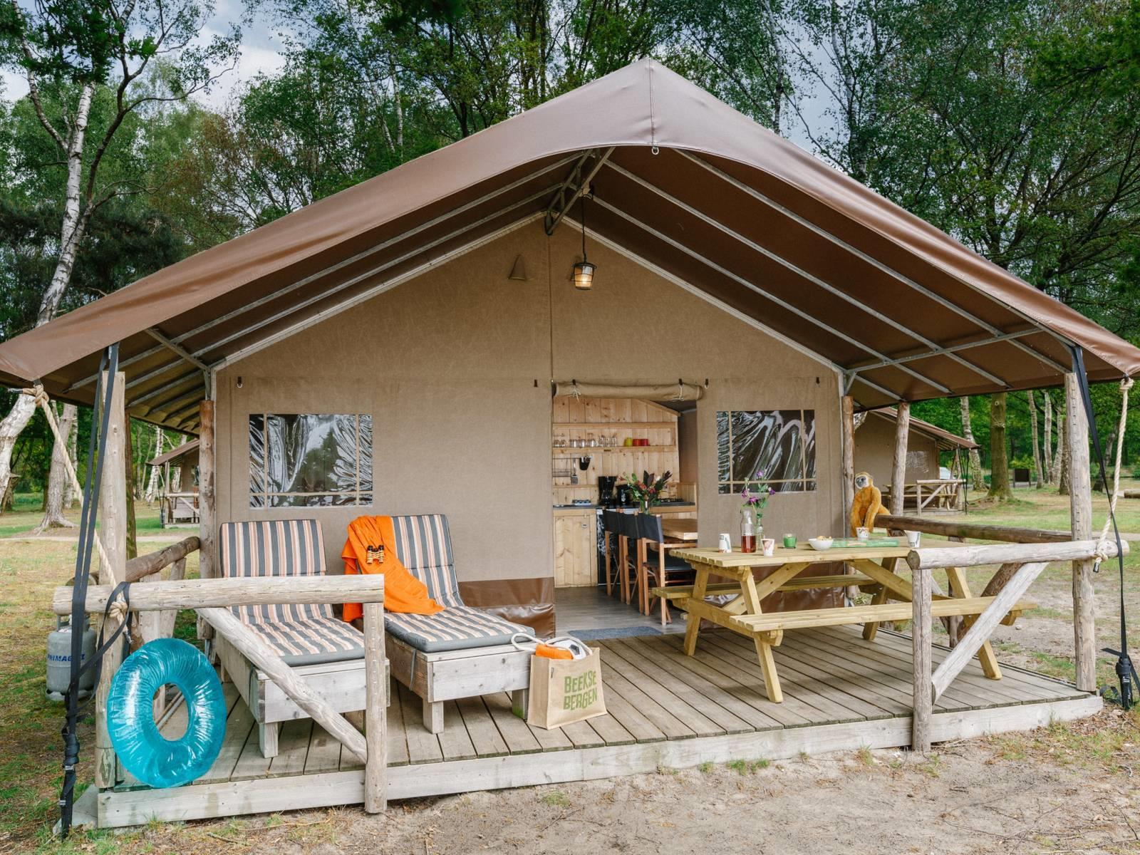Location - Big Five Safaritent - Vakantiepark Beekse Bergen