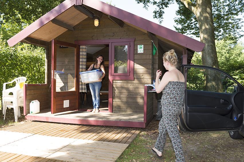 Location - Cabanes Pour Randonneurs - Ardoer Comfortcamping De Bosgraaf