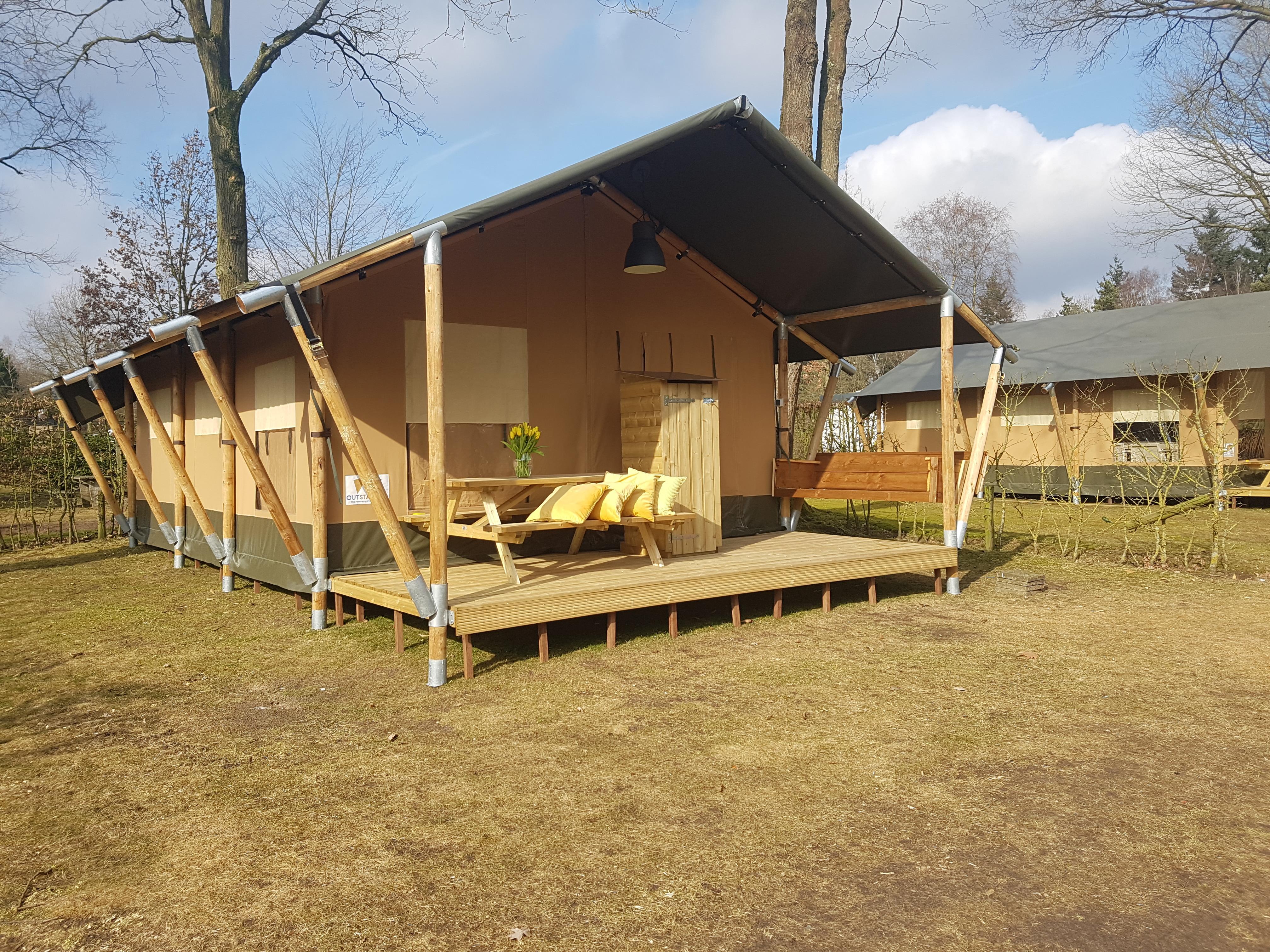 Location - Tente Safari - Ardoer Comfortcamping De Bosgraaf